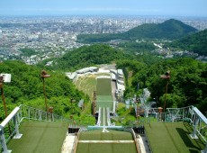 Mt. Okura Ski Jump Studium