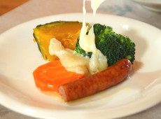 札幌食べ物作り体験_江別米村牧場ラクレットランチ