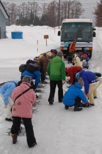 大滝氷筍探訪「にょろにょろバスツアー」