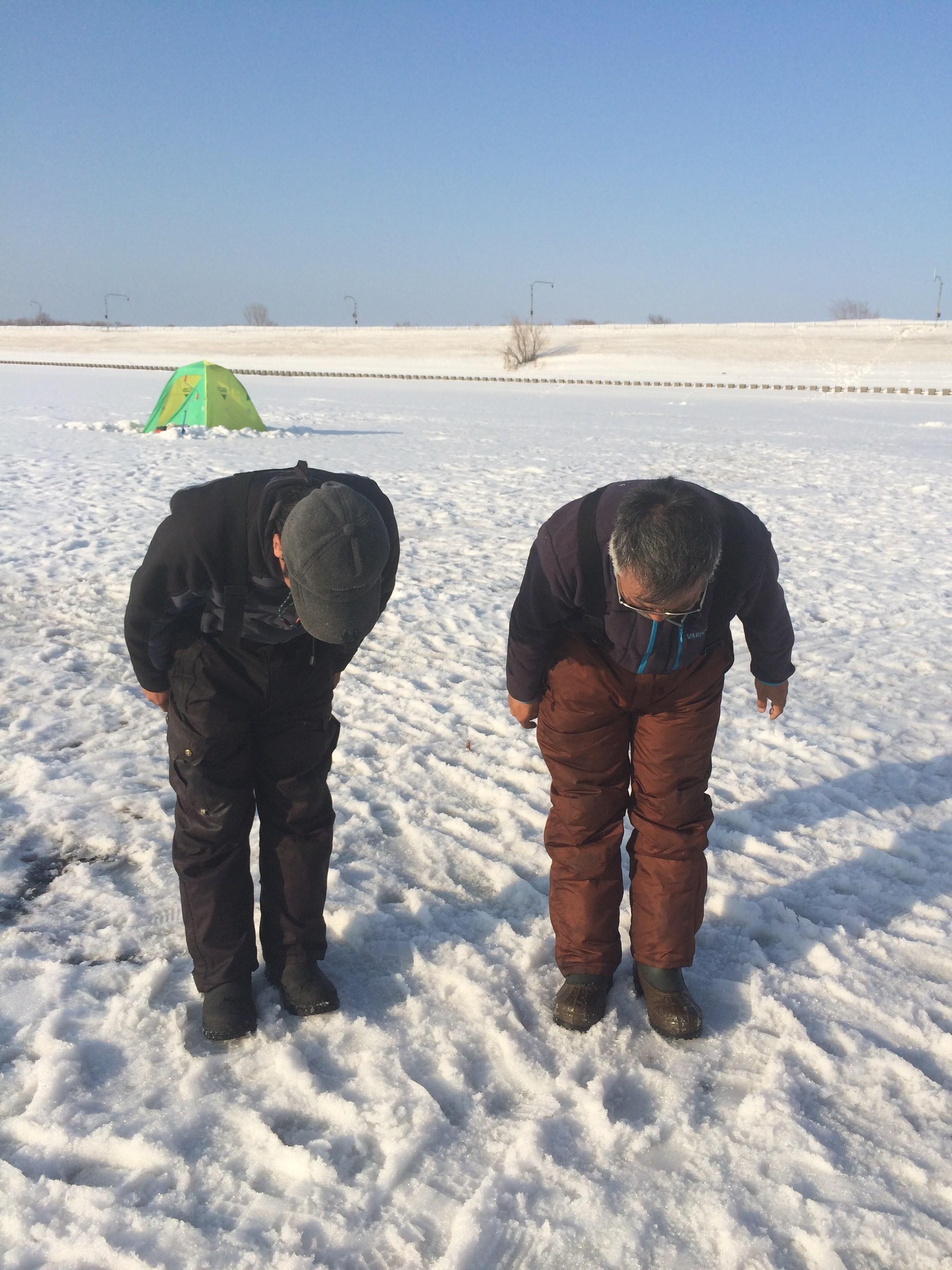 氷上ワカサギ釣りツアー
