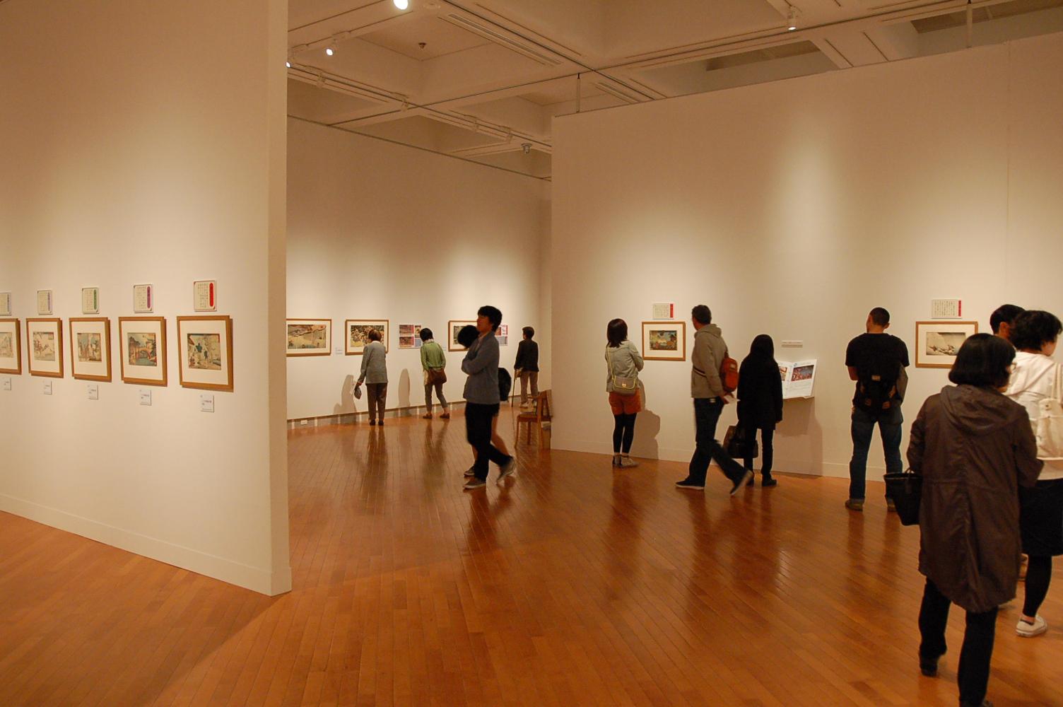札幌芸術の森美術館で開催中の「浮世絵師 歌川国芳展」がスゴい人気!