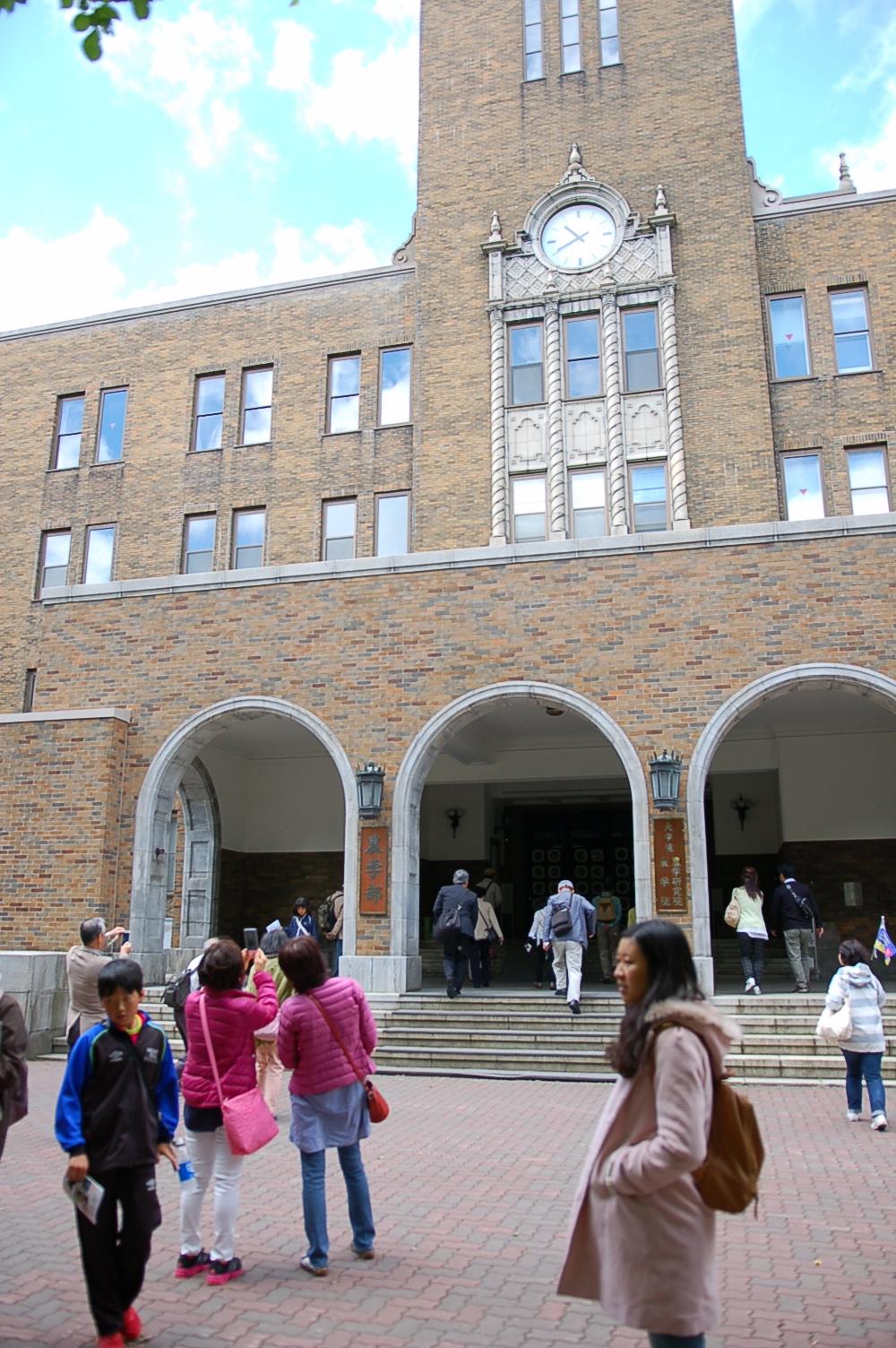 「北海道大学キャンパスウォーキングツアー」が実施されています!
