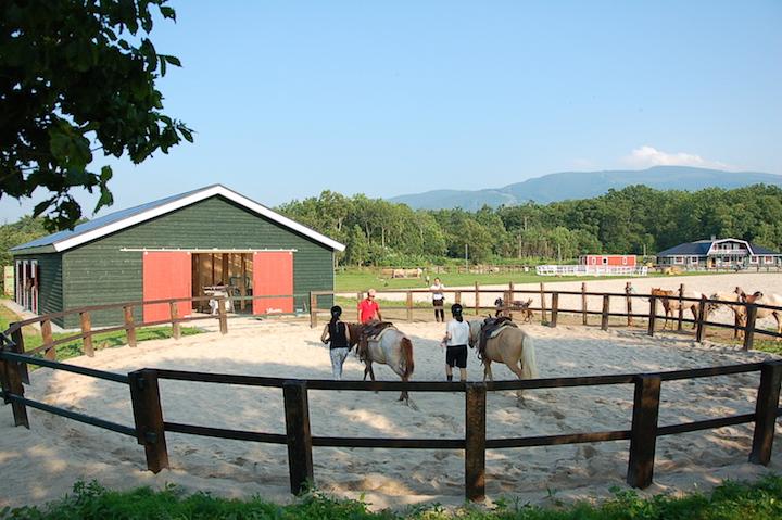 馬とのふれあいからスタートする、大沼流山牧場の乗馬旅