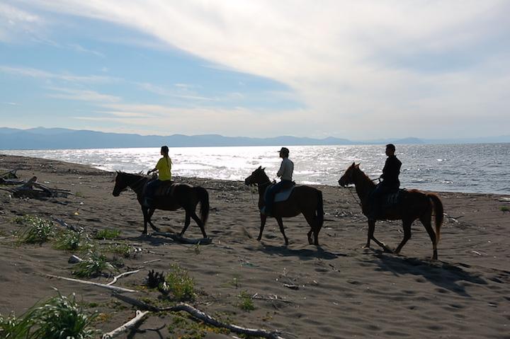 今年オープンした石狩の乗馬クラブ「シルバーランチ」の乗馬を体験!
