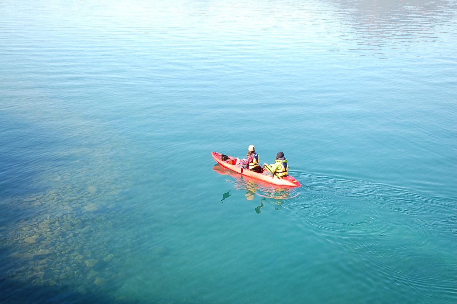支笏湖に「クリアカヤック」ツアーが新登場!