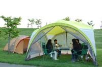 北海道手ぶらでキャンプ in 恵庭ルルマップ自然公園