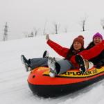 ニューオータニイン札幌_雪遊びチューブ滑り
