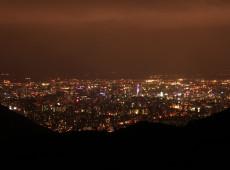 幌見峠,夜景